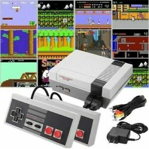 Entertainment System Classic Edition Console Built in 500 Games w/ 2 Controllers