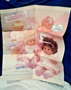 1970/'s Ideal BABY CRISSY doll INSTRUCTIONS sheet Reproduction