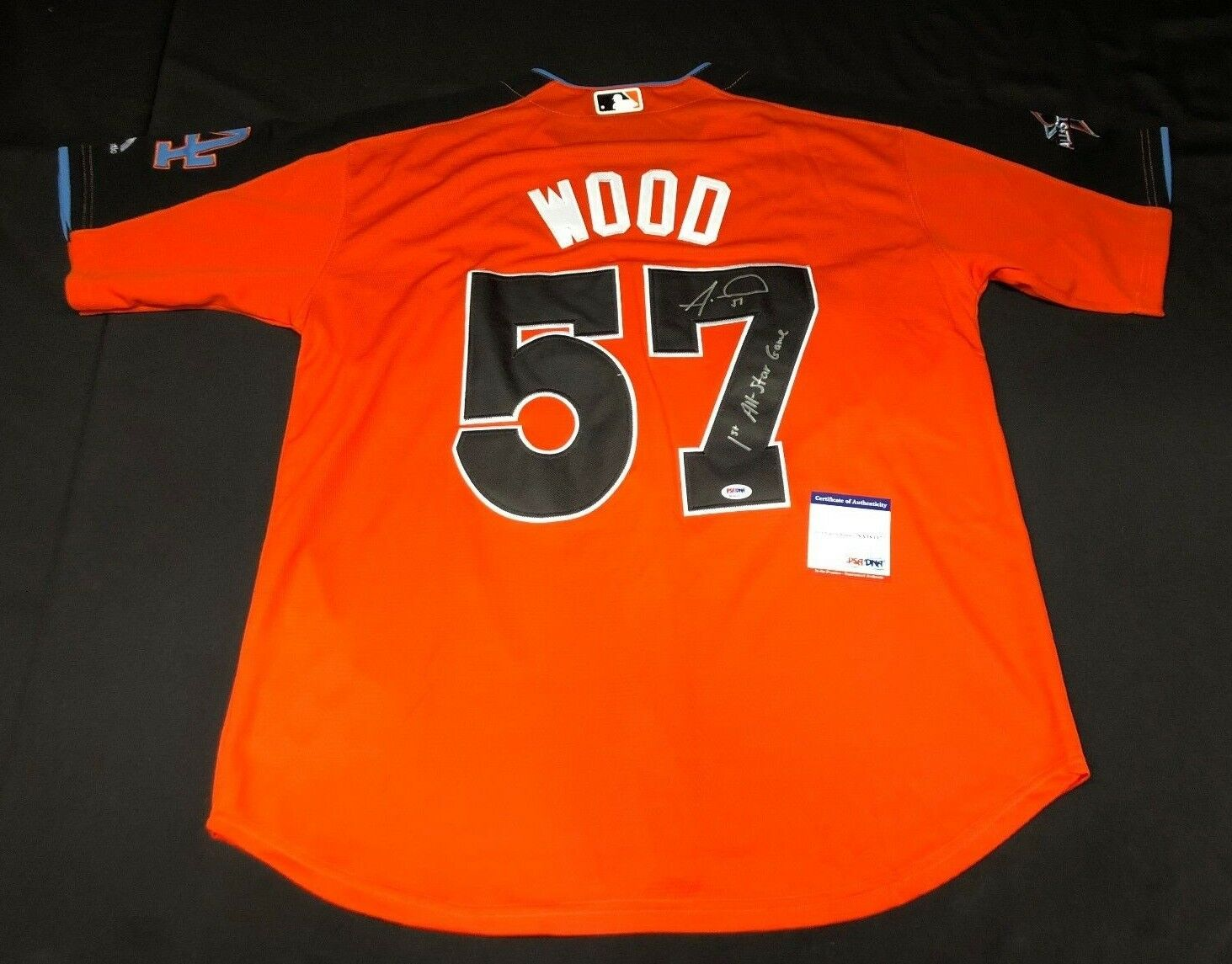 Alex Wood Signed Dodgers 2017 All-Star Jersey