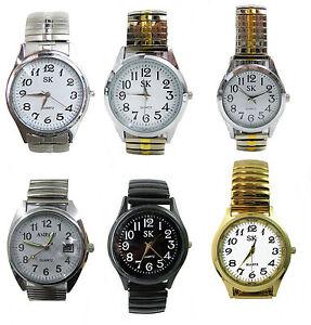 Damenuhren schwarz metall  Zugband Uhr Herrenuhr Damenuhr bequemes Metall Flexarmband-Uhr ...