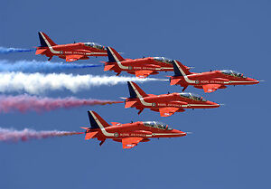 red arrows plane poster 1 (sizes-a5-a4-a3-a2) + free surprise a3, Powerpoint templates