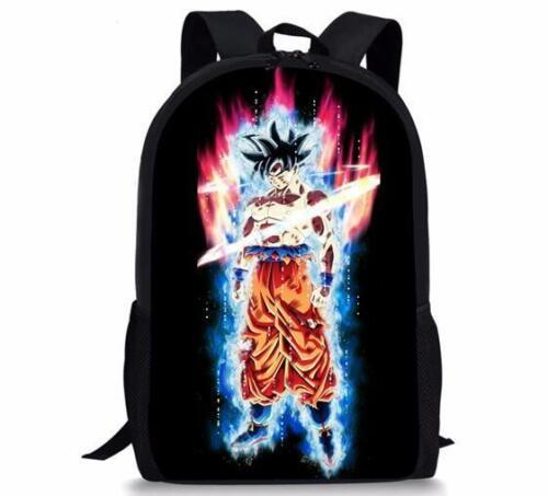 New Dragon Ball Super Vegeta Son Girls Boys School Backpack Kids