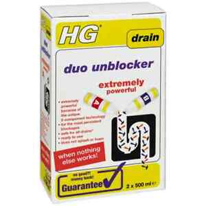 Details about HG Duo Unblocker 2x 500ml- Extremely Super Powerful