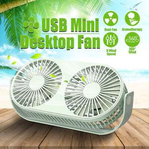 USB-Mini-Table-Desktop-Fan-Double-Head-Air-Cooling-Home-Office-Portable-Desk-Fan