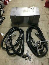 Military Fuel Dispenser Nozzle Amp Hose Aluminum Box Morrison Dubuque Goodyear