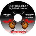 AC DC (AC/DC) Guitar Tab Software Lesson CD + BACKING TRACKS + FREE BONUSES