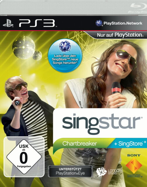 SingStar: Chartbreaker (Sony PlayStation 3)