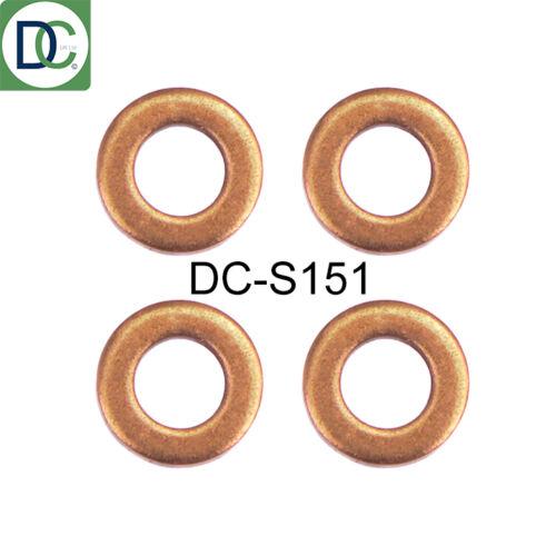 Seals x 4 220 CDI Bosch Common Rail Diesel Injector Washers Mercedes GLA 200