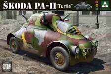 Takom WWII Skoda PA-11 Turtle armored car model kit 1/35