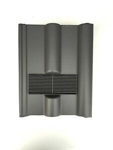 Roof-Tile-Vent-To-Fit-Marley-Redland-50-Double-Roman-Grey-Smooth-8-Colours