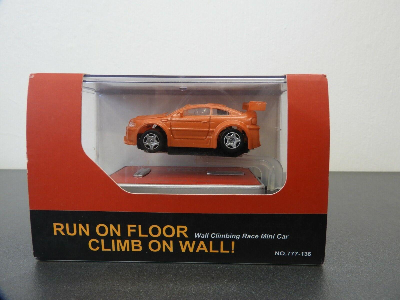 INFRArot CONTROL,WALL CLIMBING RACE MINI CAR, , DIECAST, 1 58 SCALE, NO  777-136