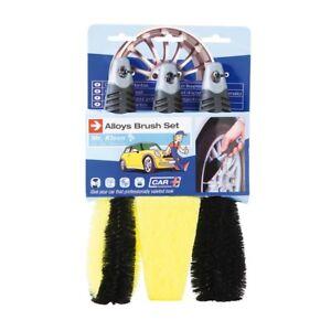 Sumex-Klin453-Alloy-Wheel-Brush-Set-Car-Cleaning-Brushes