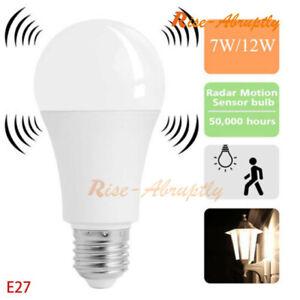 E27-Radar-Sensor-Ambient-PIR-Motion-5-12W-LED-Globe-Bulb-Light-Lamp-Practical