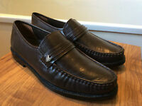 Vintage - The Shoe Tailor- Unworn- Old Stock Brown All Leather 1970's Loafer 8