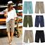 Plus-Size-Knee-Length-Pants-Women-Summer-Elastic-Waist-Lace-Up-Short-Pants thumbnail 1