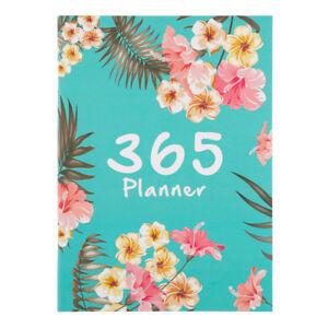 365 Day A4 Agenda Schedule Notebook Monthly Planner Organizer Magazines New