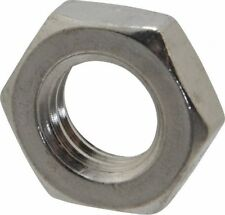 """Qty 5 Hex Lock Nut 1//2/"""" UNC Imperial Marine Stainless 316 A4 70 Thin Half Jam"""