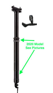 Marque-X Ascend XL compte-gouttes Tige de selle 170 mm 30.9 /& 31.6 RRP 169.99 2020 Modèle