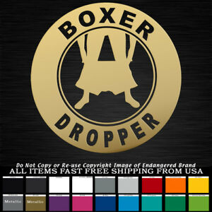 9c24cce28f8 Panty Boxer Dropper Round Girl Low Boost JDM Funny Truck Car Sticker ...