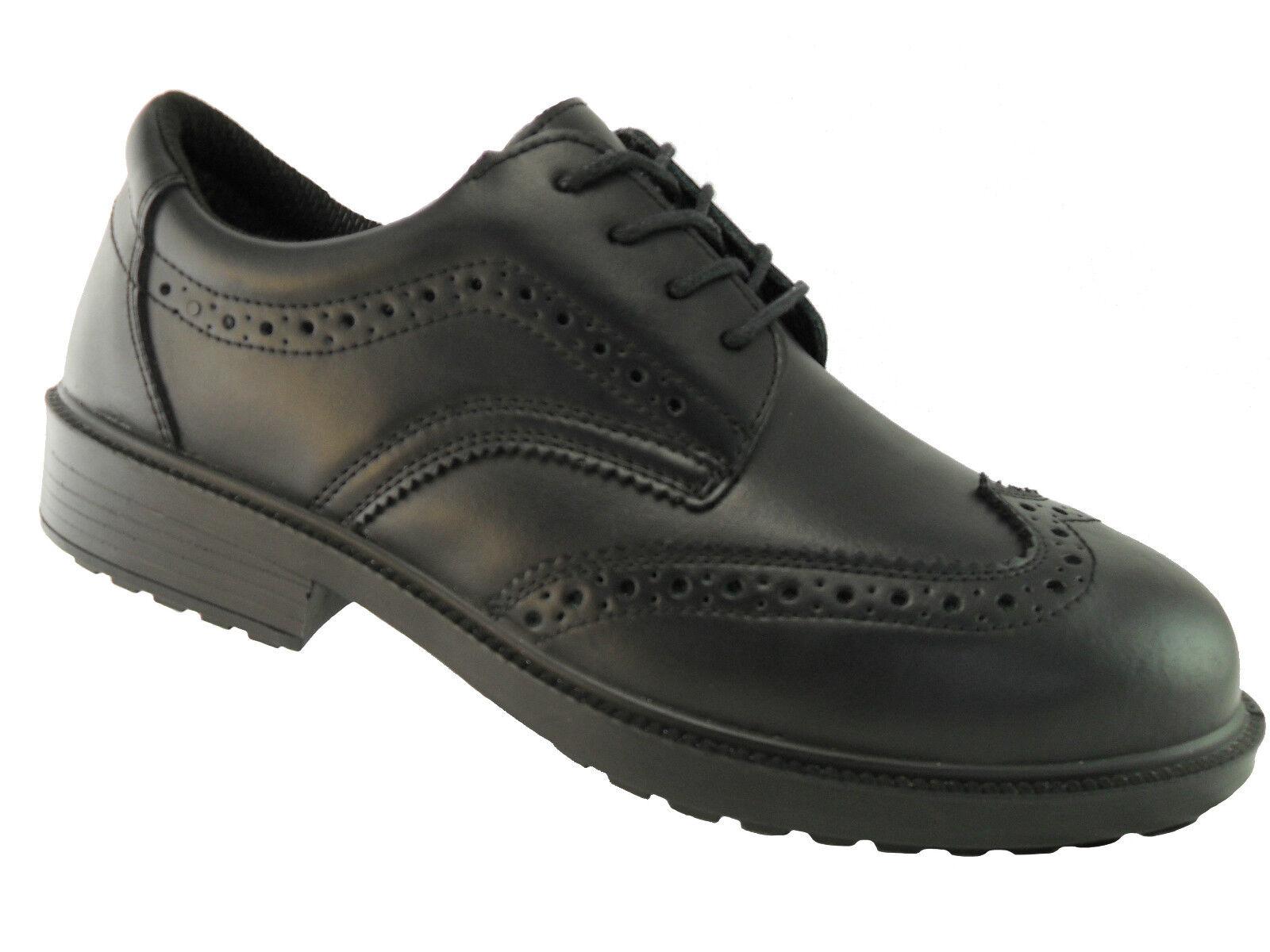 Rock Fall TOMCAT Brooklyn TC500 Nero Acciaio Toe Oxford CALATA scarpe antinfortunistiche ESD Scarpe classiche da uomo