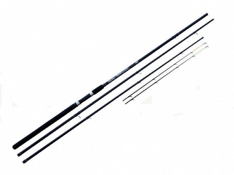 Projekt Carbon Fishing Carp Commercial Feeder Rod 10 oder 12ft