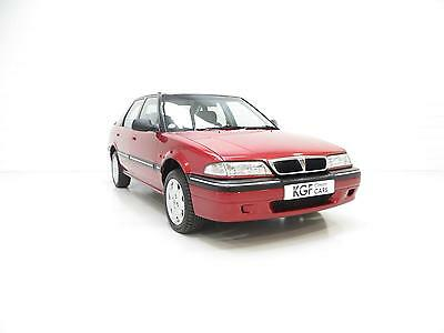 An Award Winning Rover 214SEi with an Incredible 17,988 Miles from New.