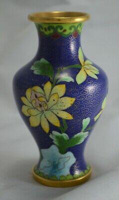 Special Section N4658 Pregiato Vaso Cinese In Cloisonne' Arte Orientale Antiques