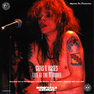 GUNS-N-039-ROSES-CD-LIVE-AT-THE-MARQUEE-MC-074-HEAVY-METAL-HARD-ROCK-BAND