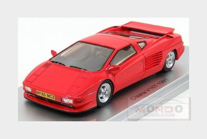 Cizeta V16T 6,4 16Cil 64V 1991 rouge KESS-MODEL 1 43 KE43048000