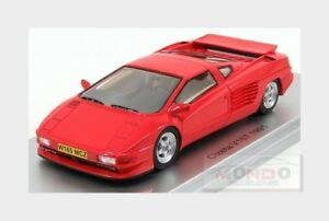 Cizeta V16t 6,4 16cil 64v 1991 Rouge Kess-modèle 1:43 Ke43048000