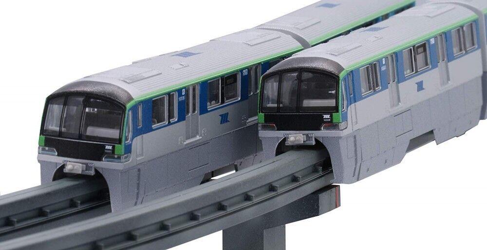 Fujimi Tokyo monorraíl tipo 10000 6-Car Modelo de Plástico Pintado Tren Str14 1 150