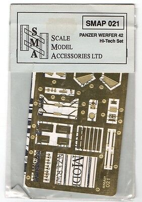PANZERWERFER 42-1//35 PHOTOETCHED S.M.A SCALE MODEL ACCESSORIES SMAP021