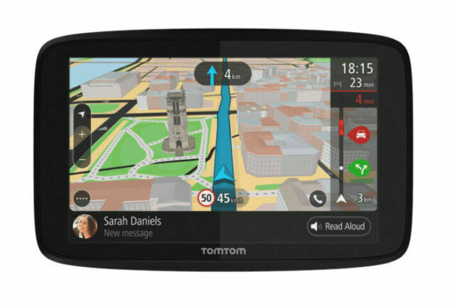 TomTom Go 620 6 inch In-Dash GPS Navigator(Magnetic Mount,Micro USB Car Charger)