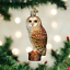 Old-World-Christmas-BARN-OWL-16118-N-Glass-Ornament-w-OWC-Box thumbnail 1