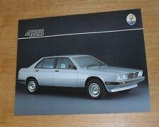 Maserati 425 Double Sided Brochure / Flyer 1990