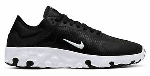 Nike-Damen-Retro-Sneaker-Freizet-Schuhe-Top-WMNS-NIKE-RENEW-LUCENT-schwarz-weiss
