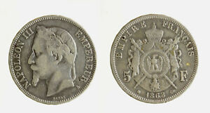 s1544-43-FRANCIA-NAPOLEONE-III-5-FRANCHI-1868-A