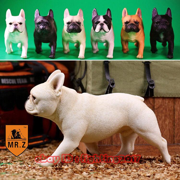 Mr.Z 1 6 French Bulldog Figure MRZ Animal Model Dogs Collect 001(a+b)-006(a+b)