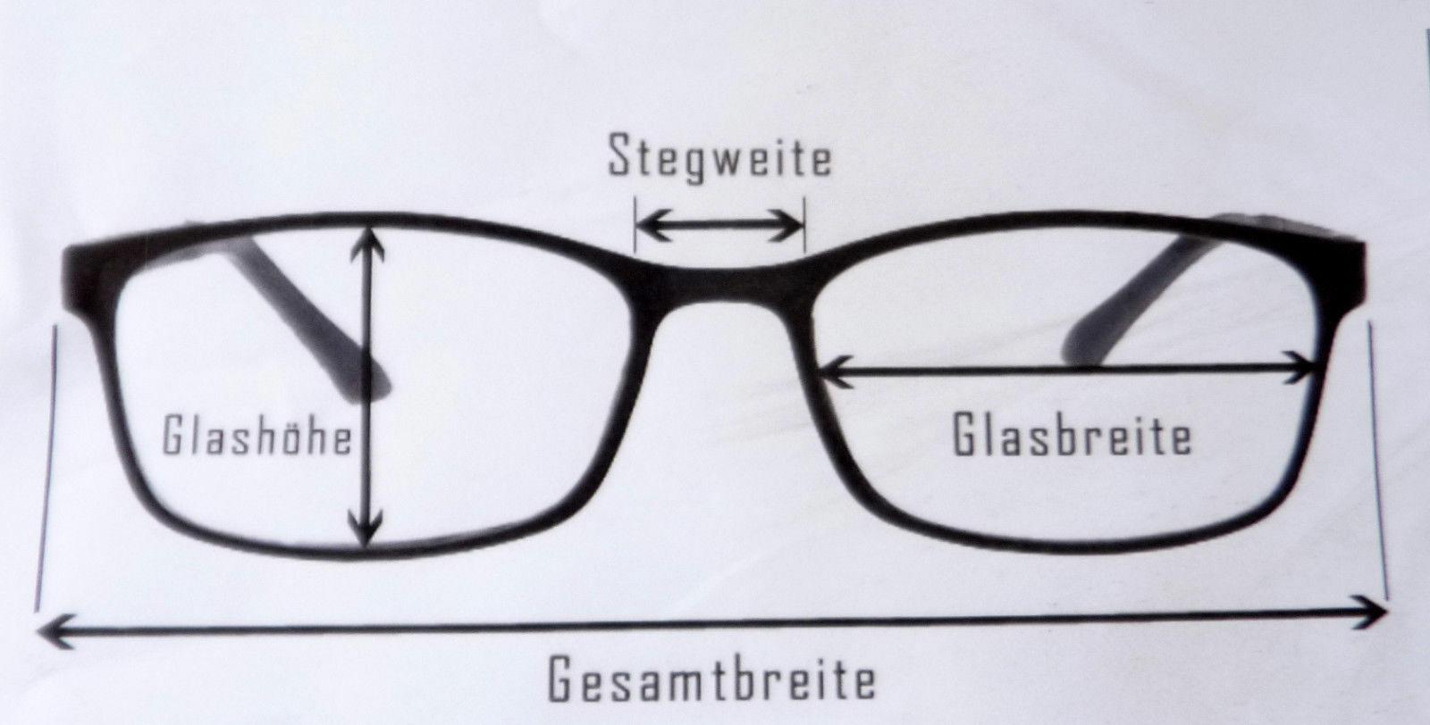 WK Design Brillenfassung Metallgestell für Frauen mit breiten Federbügeln Gr. S