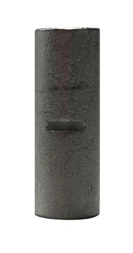 200 Pcs Non-Insulated Crimp Butt Connector Splice Wire Terminal Uninsulated Kit