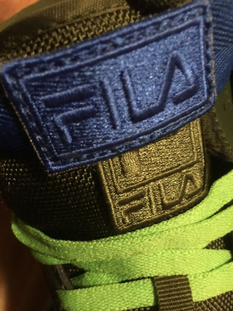 FILA Teenage Mutant  Ninja Turtles TMNT Shoes  Mutant Size 7.5 Uomo Hitop   da Ginnastica e2d0ec