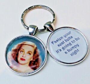 sich Sie über SchlüsselanhängerAlles Eve Foto Schnallen an Bette Davis DIWY29EH