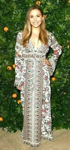 New-NWT-Tory-Burch-Rosemary-Embroidered-Crochet-Maxi-Long-Gown-Dress-IT-38-US-2