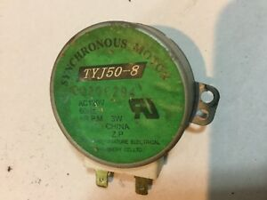For Mircrowave Oven TYJ50-8 120V AC Turntable Synchronous Motor 180 day warranty
