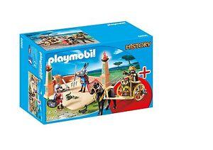 Playmobil-6868-Gladiadores-y-Cuadriga-Roma-Gladiatorenkampf