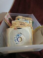 Estate LOT 95 Vintage SQUARE DANCE RECORDS 45 rpm Sleeves Calls Personal Notes