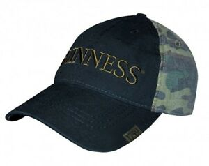 fdd1a95f5d1 Image is loading Guinness-Washed-Camouflage-Print-Baseball-Cap-Irish-Ireland -