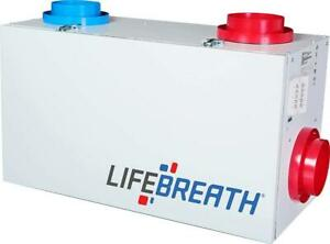 Lifebreath RNC 155 Residential Heat Recovery Ventilator (HRV) for sale with Wall Control- Delivery Available Canada Preview