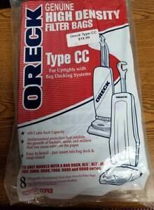 9 Genuine Oreck PK80009DW Hypo-Allergenic Filter Bags