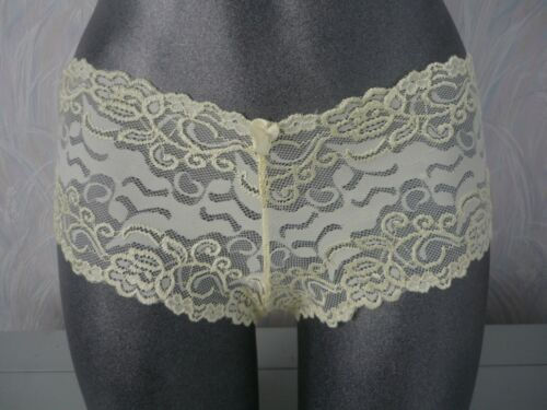ladies pretty short knickers 11 pretty colours sizes 8 to 16